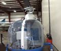 Thermoforming of a Clear Polycarbonate Helicopter Window for the Aviation Industry