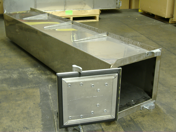 Fabrication of Stainless Steel Under Frame Storage Box – Truck ...
