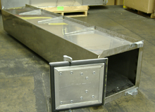 Fabrication of Stainless Steel Under-Frame Storage Box
